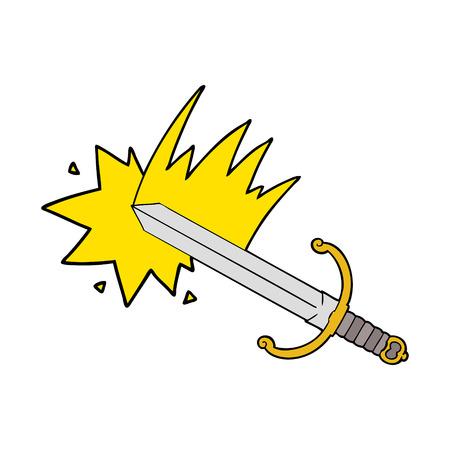Cartoon sword