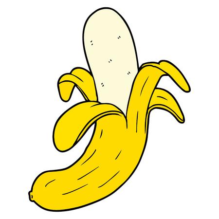 Hand drawn cartoon banana 版權商用圖片 - 95001024