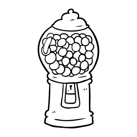 376 Gumball Machine Stock Illustrations Cliparts And Royalty Free