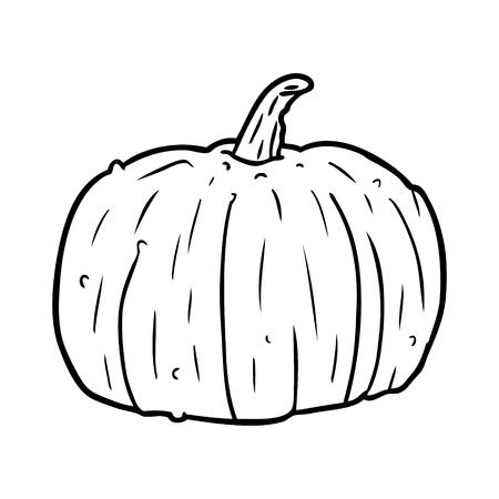 Hand drawn Halloween pumpkin Иллюстрация