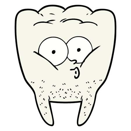 cartoon whistling tooth