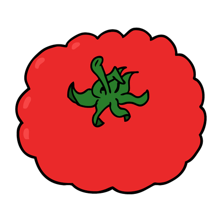 cartoon tomato illustration design.