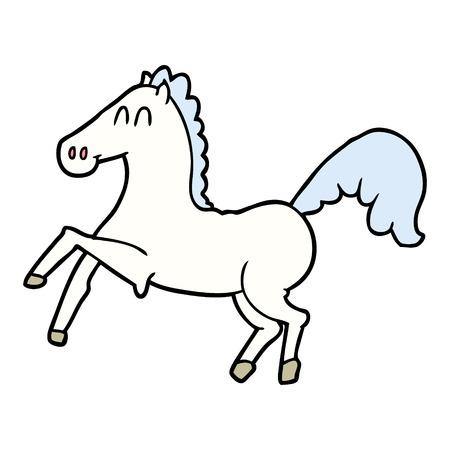 漫画の馬を育てる