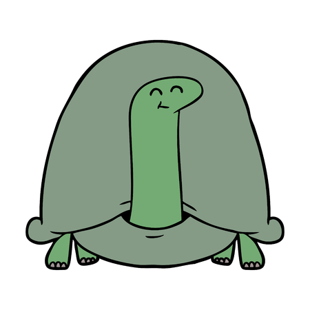 cartoon tortoise illustration design.