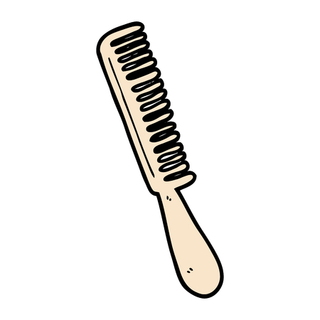 cartoon comb Vector illustration. Stock fotó - 94931558