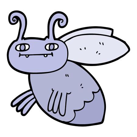 Bug dos desenhos animados Foto de archivo - 94932223