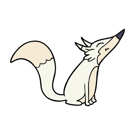 만화 북극 여우