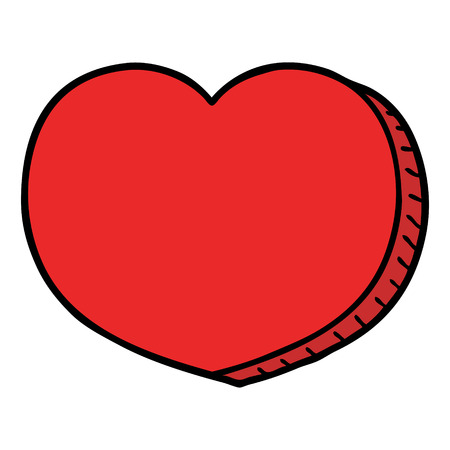 만화 사랑의 마음 일러스트