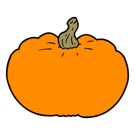 cartoon pumpkin illustration design.