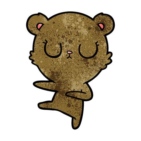 平和な漫画クマの子
