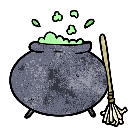 cartoon cauldron illustration design. Zdjęcie Seryjne - 94990611