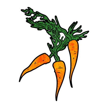 cartoon carrots illustration design.