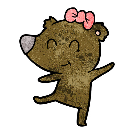 female bear cartoon