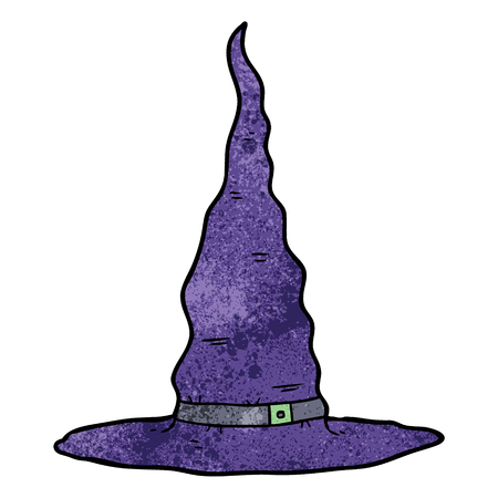 cartoon witchs hat