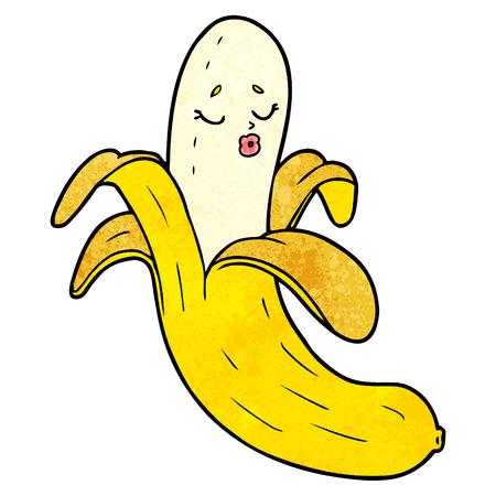 Cartoon best quality organic banana