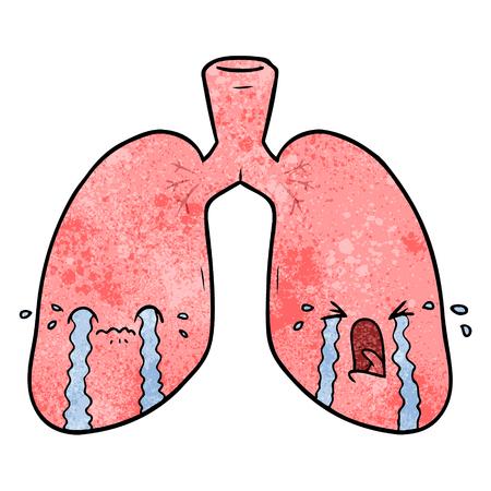 漫画の肺が泣いている