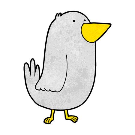 cartoon bird Иллюстрация