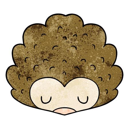 cartoon hedgehog Archivio Fotografico - 95134784
