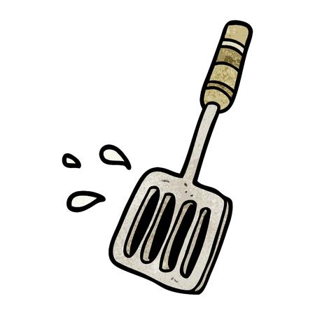 cartoon kitchen spatula tool