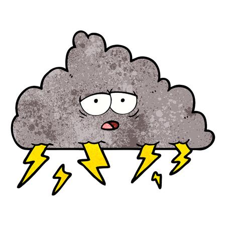 cartoon storm cloud
