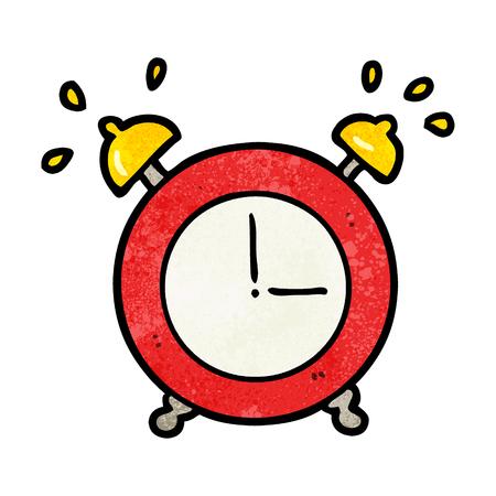 cartoon ringing alarm clock 写真素材 - 95135103