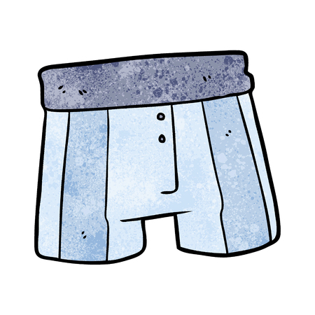 Cartoon boxer shorts Ilustracja