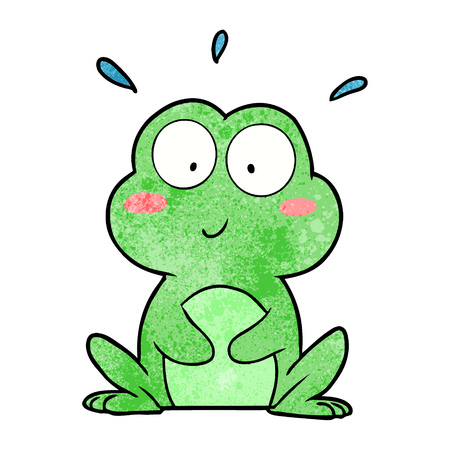cute cartoon frog
