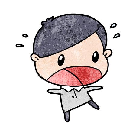 かわいい漫画ショック男