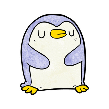 cartoon penguin illustration