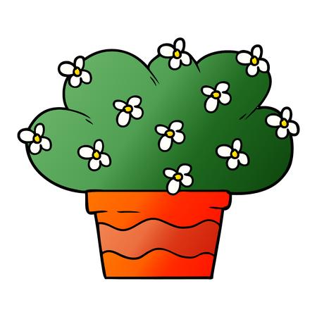 漫画植物ベクトルイラスト。