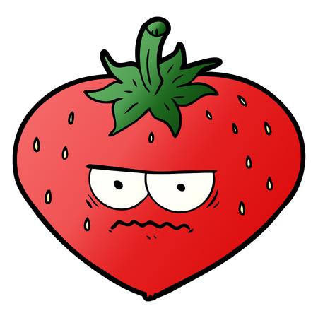 cartoon strawberry