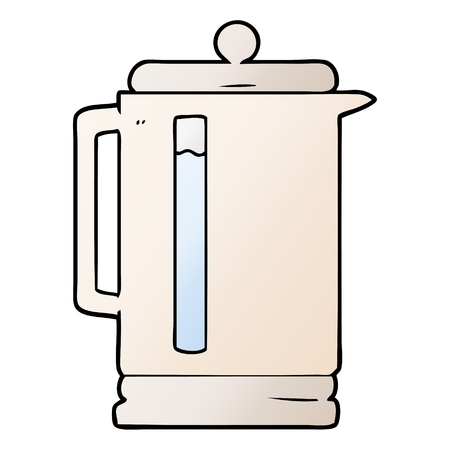 cartoon electric kettle 스톡 콘텐츠 - 95106576