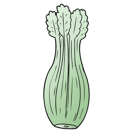 Cartoon vegetable Stock Illustratie