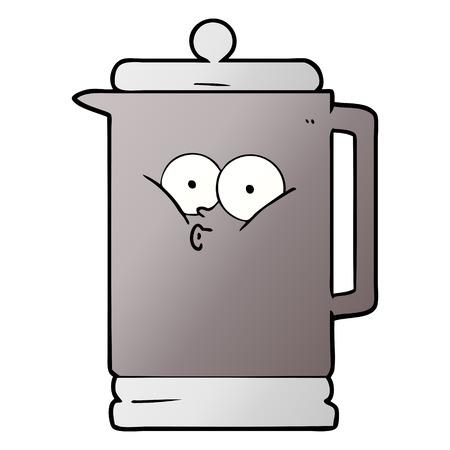 Cartoon electric kettle