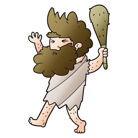 Cartoon cave homme Banque d'images - 95147759
