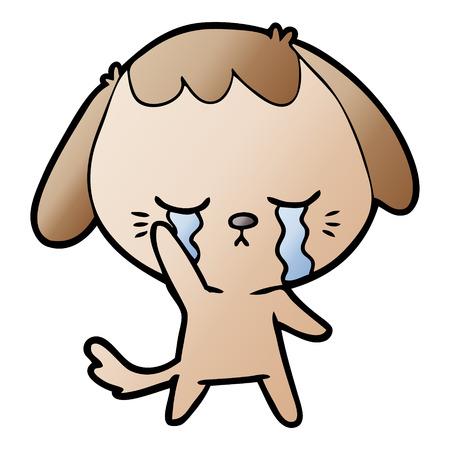 漫画犬泣き