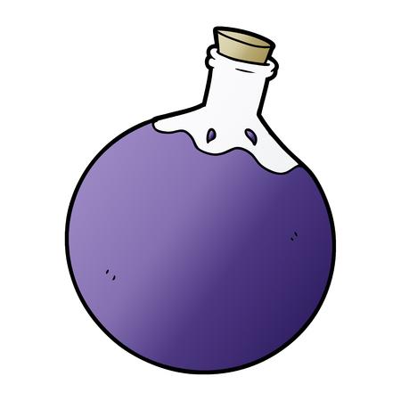 Hand drawn Halloween potion cartoon