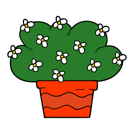 cartoon plant illustration Stock fotó - 95284994