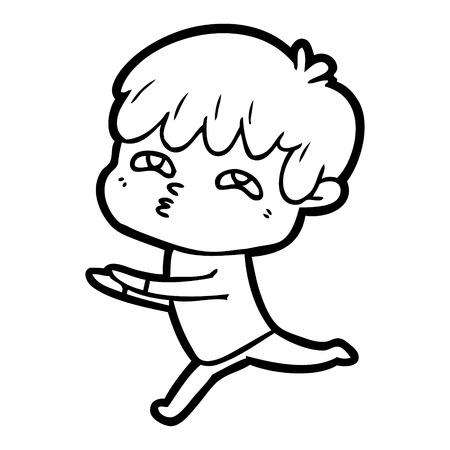 Ballet man cartoon