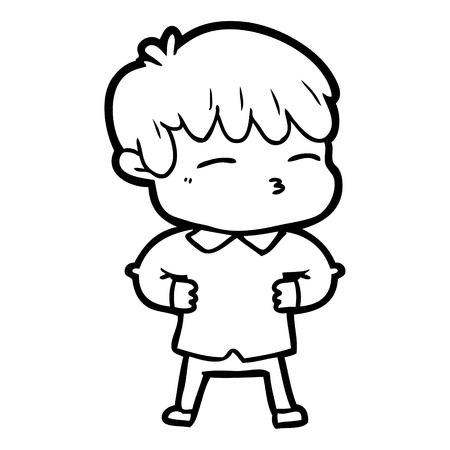 漫画好奇心の少年