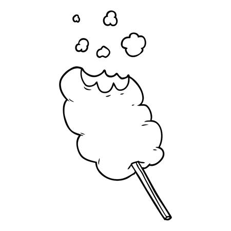 cartoon candy floss