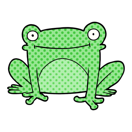 cartoon frog Banque d'images - 95378687