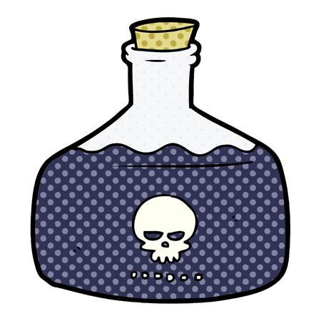 暗殺者毒の漫画バイアル