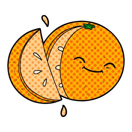 오렌지 슬라이스 만화
