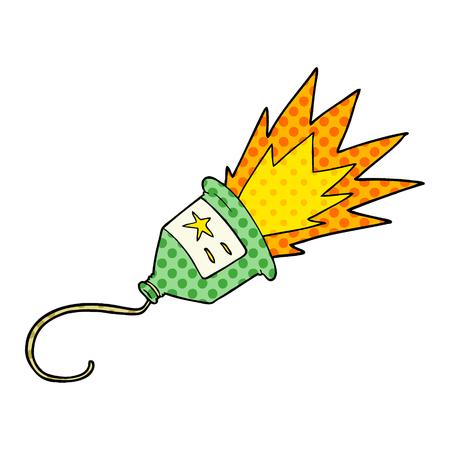party popper cartoon