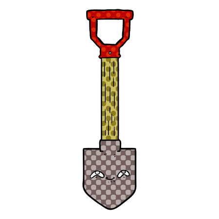 cartoon shovel