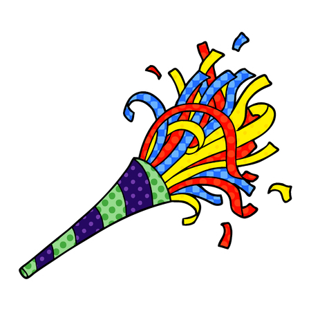 cartoon party horn