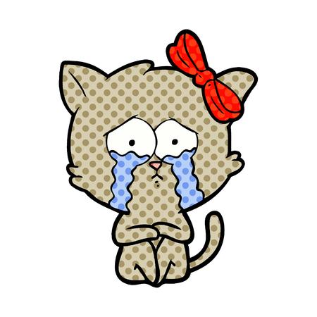Cartoon cat Stok Fotoğraf - 95470095