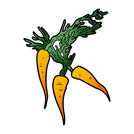 cartoon carrots Ilustracja