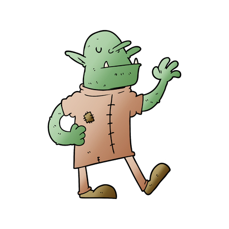 cartoon goblin